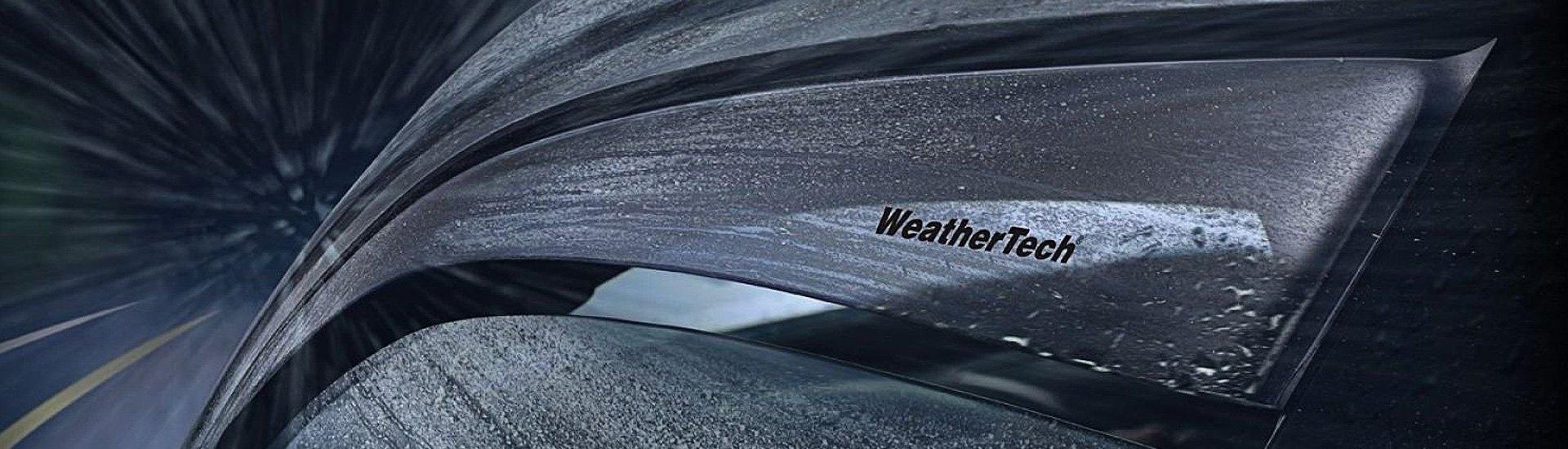 Vè che mưa ngăn nước vào xe và làm đổi hướng gió