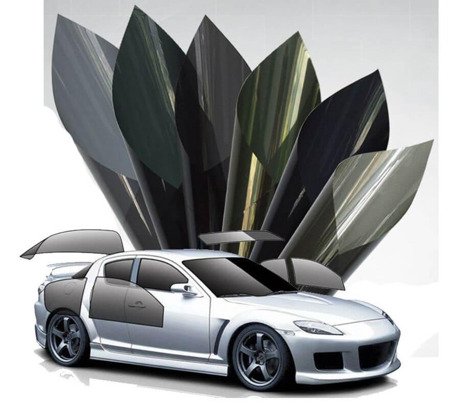Film dán kính ô tô có rất nhiều màu sắc và tính năng đa dạng