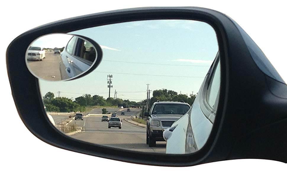 Một loại gương cầu chống điểm mù ô tô