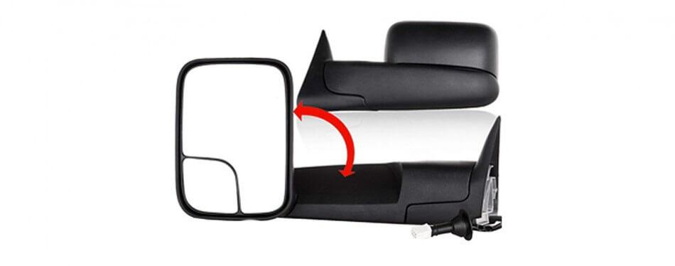 Kiểu gương chống mù ô tô có thể tùy chình